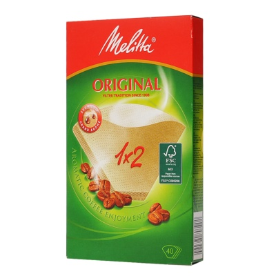 Melitta Original Filter 1*2 40pcs