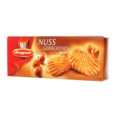 Borggreve Hazelnut Biscuits 200g