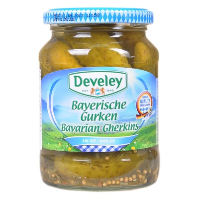Develey pickled Gherkins 330g