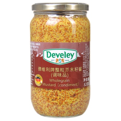 Develey Wholegrain Mustard (Condiment) 850g