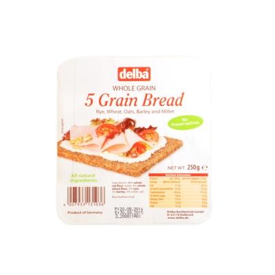 德博牌五种谷物黑面包 250g