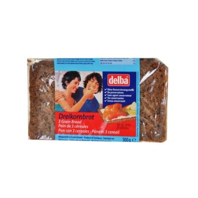 Delba 3 Grain Bread 500g