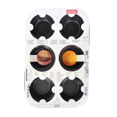 Zenker 6-Muffin Tin Non-stick 29*20cm