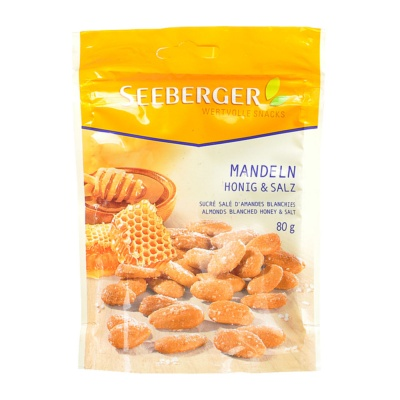 Seeberger Salt Baked Honey Almond 80g