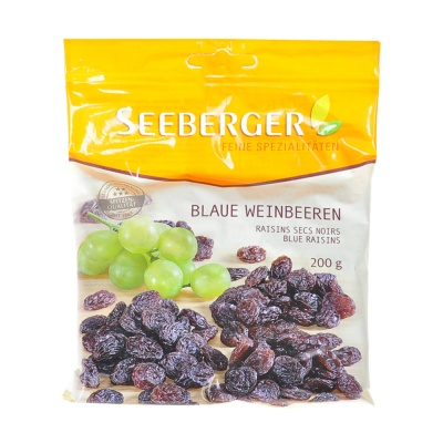 Seeberger Blue Raisins 200g