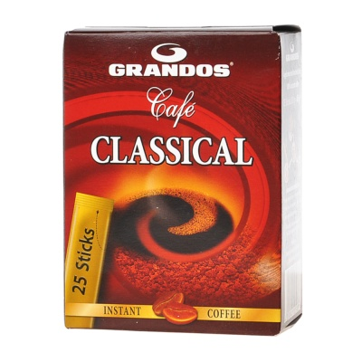 Grandos Classical Instant Coffee 25*1.8g