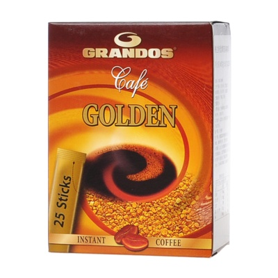 Grandos Gold Instant Coffee 25*1.8g