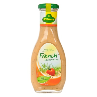 Kiihne French Salad Dressing 250ml
