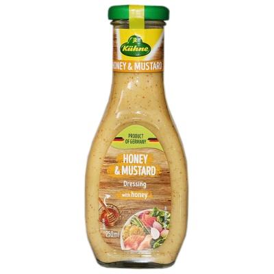 Kuhne Honey & Mustard Salsd Dressing 250ml