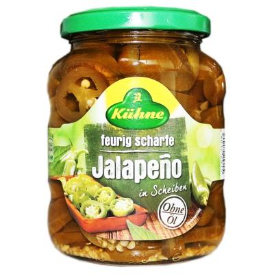 Kuhne Jalapeno 330g