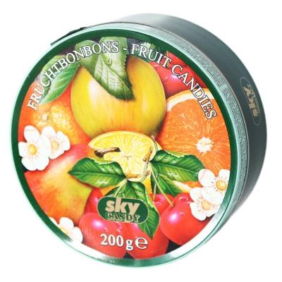 嘉云牌绿罐热带水果味糖果 200g