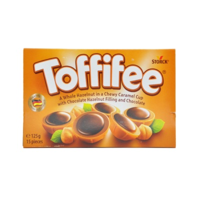 Storck Toffifee Chocolate Hazelnut Candy 125g