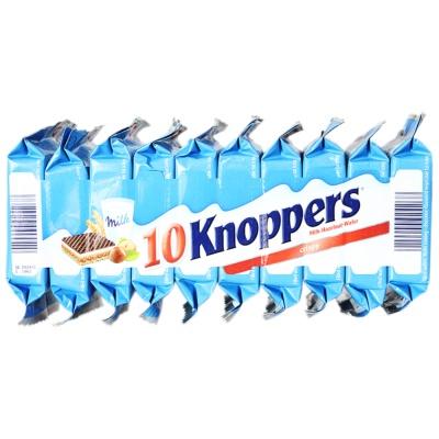 Knoppers牛奶榛子巧克力威化饼干 250g