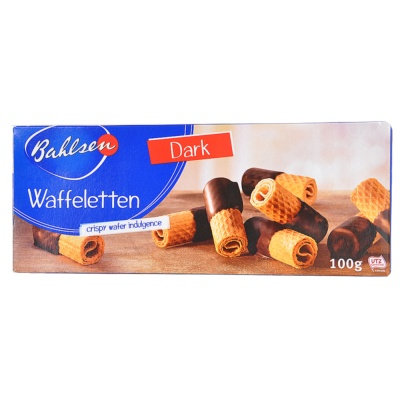 Bahlsen Waffeletten Crispy Wafer Indulgence 100g