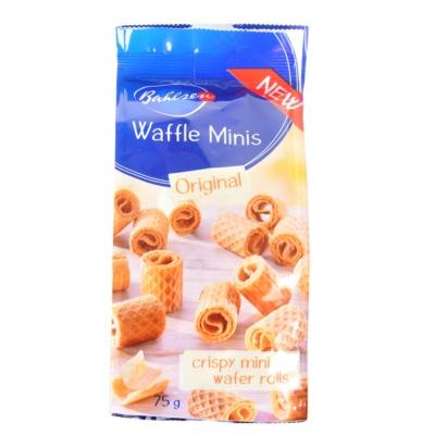 Bahlsen Original Mini Crispy Wafer Rolls 75g