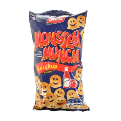 Lorenz Monster Ketchup Potato Crisps 75g