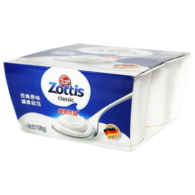 卓德热处理风味发酵乳(原味) 4*115g
