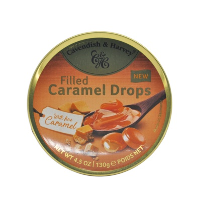 Cavendish&Harvey Filled Careamel Drops 130g