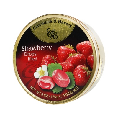 Cavendish&Harvey Strawberry Drops Filled 175g