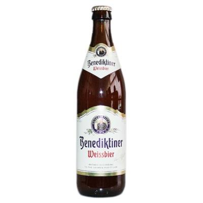 Benediktiner Weissbier Beer 500ml
