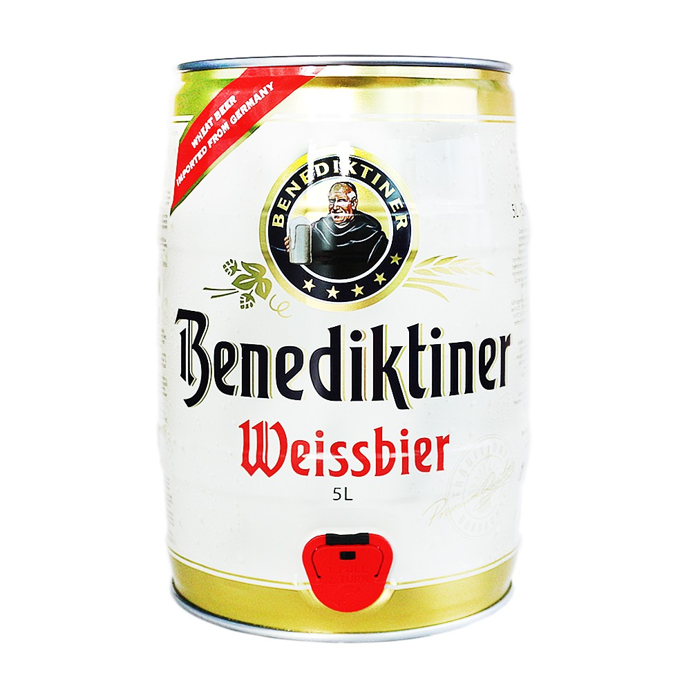 Benediktiner Beer 5L