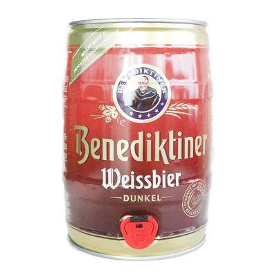 Benediktiner Weissbier Dark Beer 5L