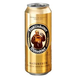 Franziskaner Weissbier Naturtrub Beer 500ml