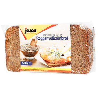 捷森黑麦面包 500g
