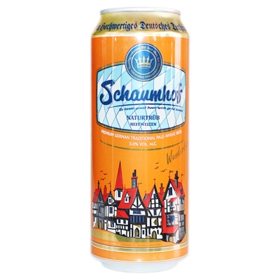 Schaumhot Pale-Wheat Beer 500ml