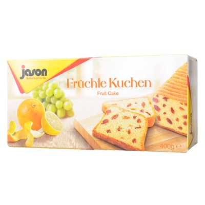 Jason Fruit Cake 400g