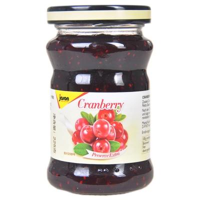 Jason Preserve Extra Cranberry 225g
