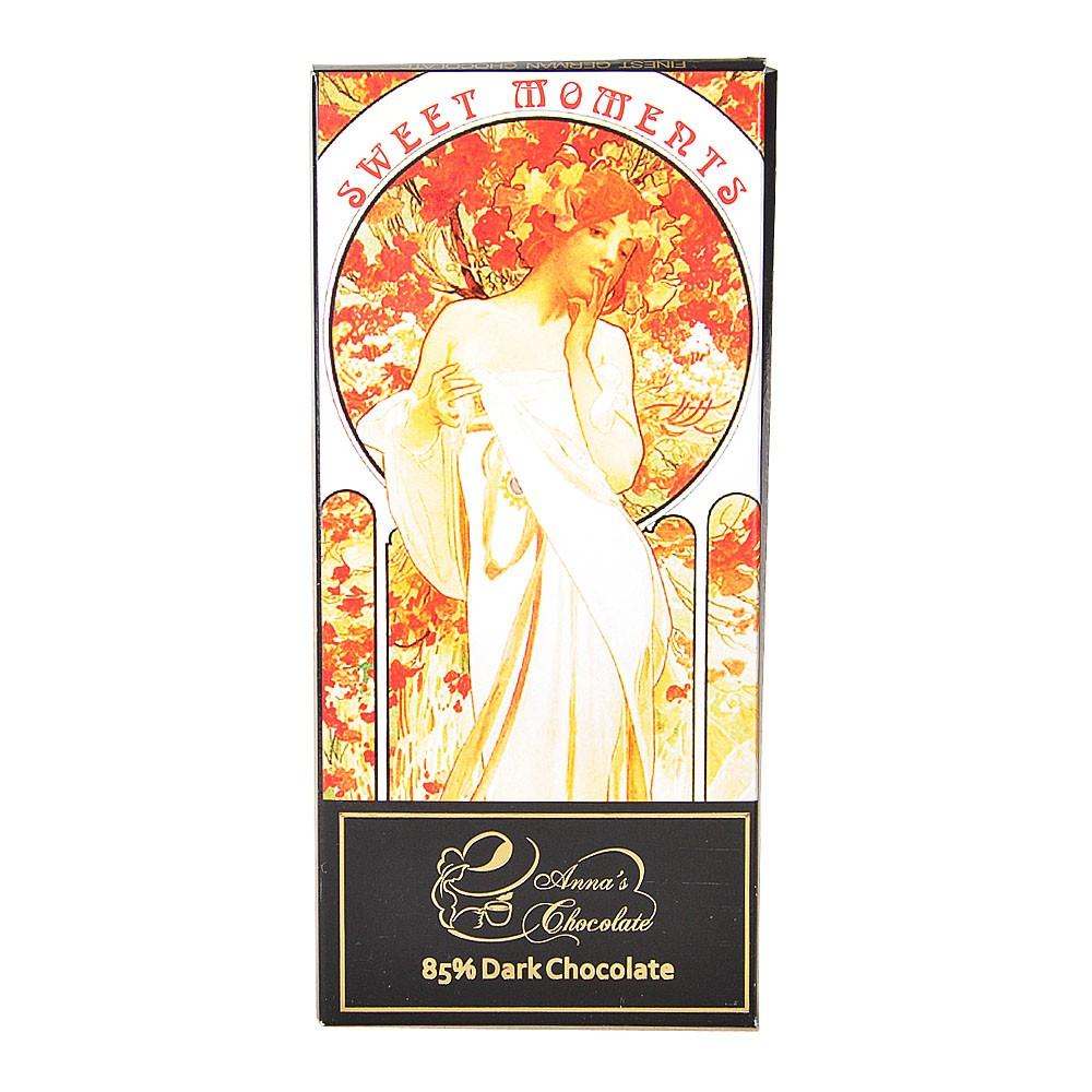 Anna's 85% Dark Chocolate(Sweet Moments) 100g