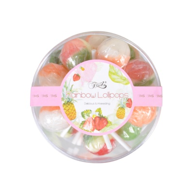 Fantas Rainbow Lollipops 180g