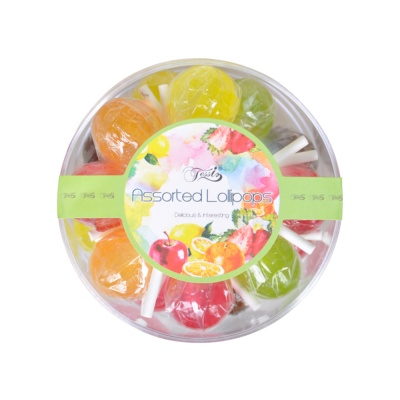 Fantas Assorted Lollipops 180g