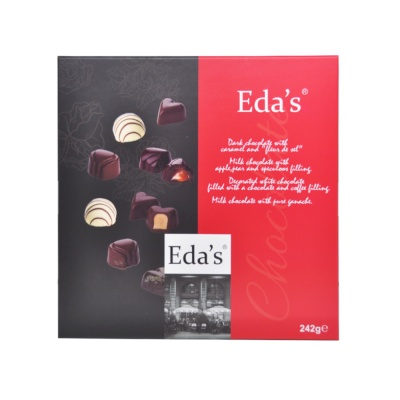 Eda'S Premium Chocolate Collection 242g
