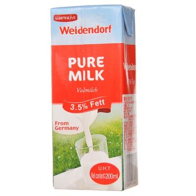 Weidendorf 3.5% Fett Pure Milk 200ml