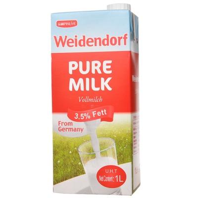 德亚全脂牛奶 1L