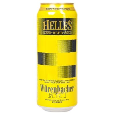 Würenbacher Helles Beer 500ml
