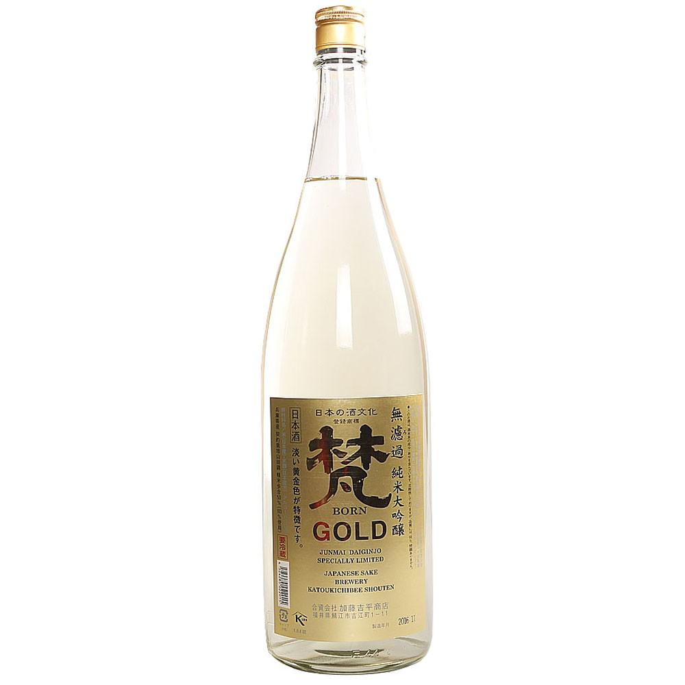 Born Gold Junmai Daiginjo Jannese Sake 1.8L