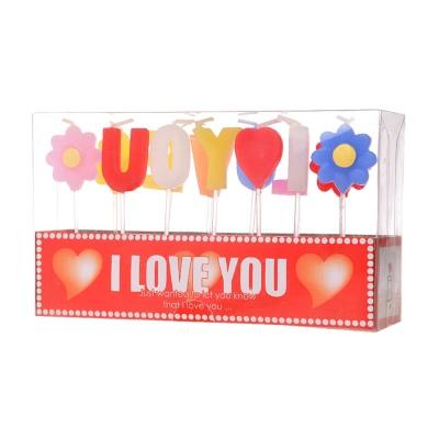 礼盒装表白蜡烛(I Love You)