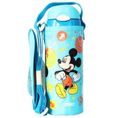 Children's straw Thermos Cup 400ml