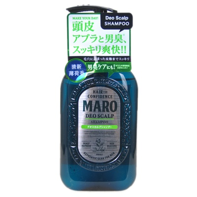 Maro Deo Scalp Shampoo Hair Confidence 480ml