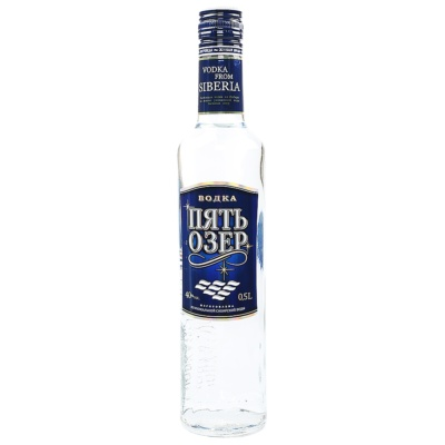 Five Lake Vodka 500ml