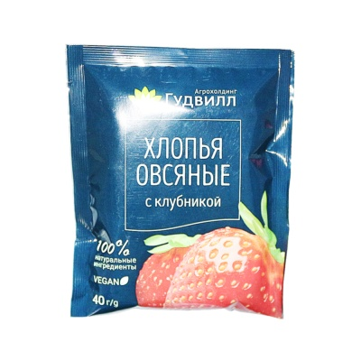 Valley Deville Strawberry Flavoured Oats 40g