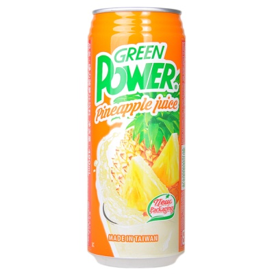 Green Power Pineapple Juice 490ml