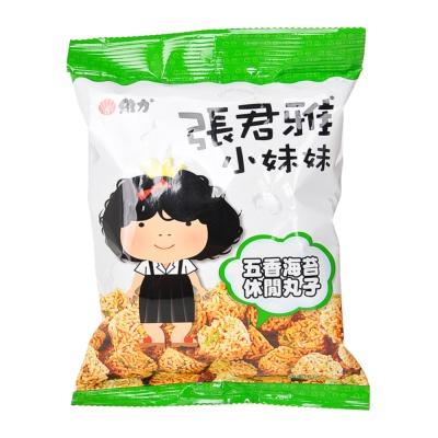 张君雅五香海苔休闲丸子 80g