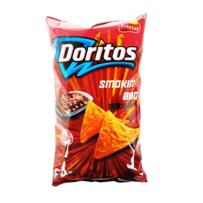 Doritos Smoke BBQ Tortilla Chips 198.4g