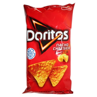 Doritos Nacho Cheesier Tortilla Chips 198.4g