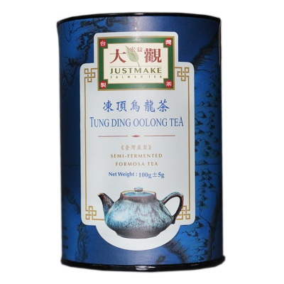 大观冻顶乌龙茶(随手罐) 100g
