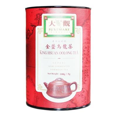 大观金萱乌龙茶(随手罐) 100g